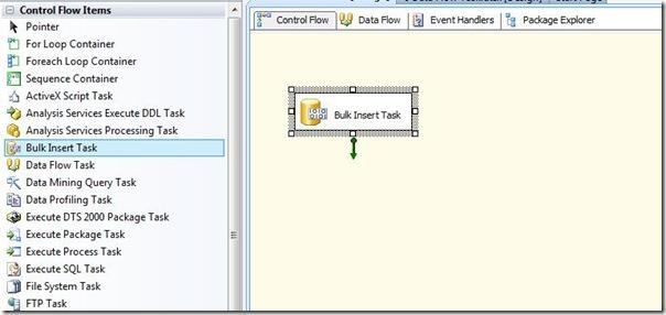 SQL SERVER SSIS: BULK INSERT Task